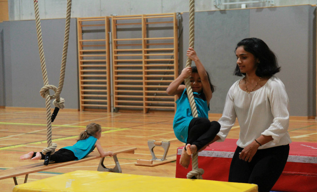 akrobatik 3 personen elemente