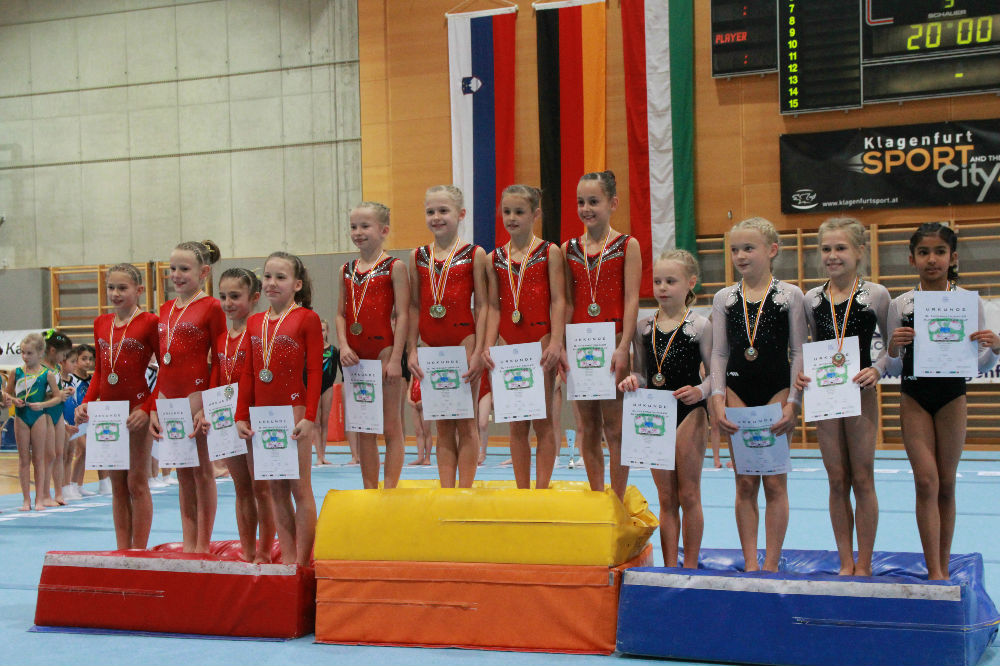 8. Int. Alpen Adria Kids Cup, 26.11.2017 Siegerehrung
